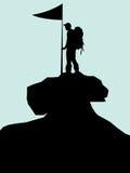 Climbing Mountain Illustrations Stock Image