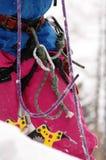 Climbing on mountains Stock Photo