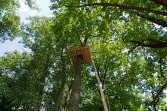 Climbing park Stock Image
