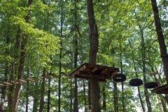 Climbing park Royalty Free Stock Image