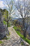 Climbing path Stock Photos