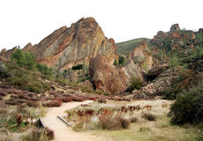 Climbing Pinnacles Stock Photography