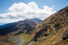 Climbing Placlive peak at Tatras Royalty Free Stock Photography