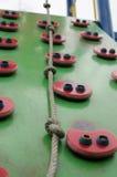 Climbing playground Stock Images