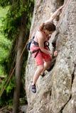 Climbing Rock royalty free stock image