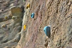 Climbing rock Stock Images