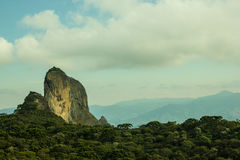 Climbing Rock in Brazil Royalty Free Stock Images
