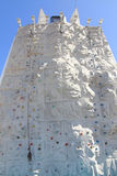 Climbing rock wall Stock Photos