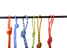 Climbing rope Stock Images