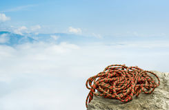Climbing rope Royalty Free Stock Image