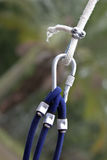 Climbing rope Royalty Free Stock Photos
