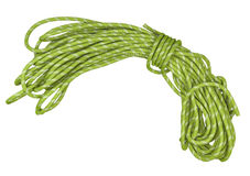 Climbing rope. Climbing equipment used for providing safety Stock Photos