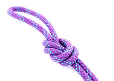 Climbing Rope with knot Royalty Free Stock Photography