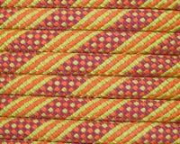 Climbing rope macro Stock Photo