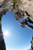 Climbing Route Royalty Free Stock Photo