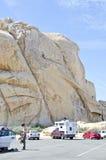 Climbing Scene Stock Image
