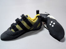 Climbing shoes. For rock climbing Montaigne Stock Photo