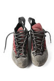 Climbing shoes Stock Photography