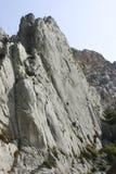 Climbing in Sisteron, France. Climbing in Alps. Sisteron, France Stock Photos