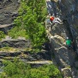Climbing Team Royalty Free Stock Photography