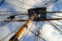 Free Climbing The Rigging Royalty Free Stock Photo - 112755