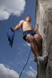 Climbing to the sky Royalty Free Stock Photography