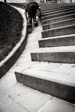 Climbing up. A little adventure Royalty Free Stock Photo