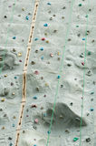 Climbing Wall Stock Photography