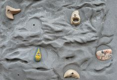 Climbing Wall Royalty Free Stock Photos