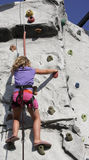 Climbing wall stock photos