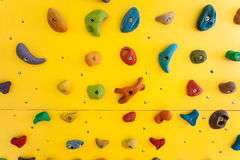 Climbing wall Royalty Free Stock Photo