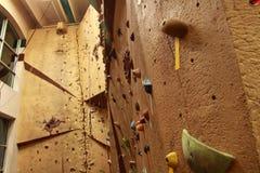 Climbing wall Royalty Free Stock Photos