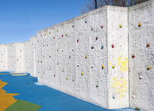 Climbing wall Stock Photography