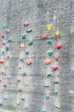 Climbing wall Royalty Free Stock Photo