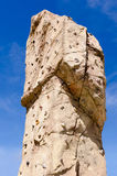 Climbing wall detail Stock Image
