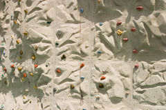 Climbing Wall Detail Royalty Free Stock Photos