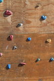Climbing Wall. A Climbing Wall form Training stock images