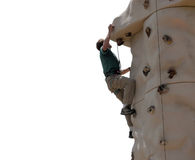 Climbing Wall - Montana Stock Image