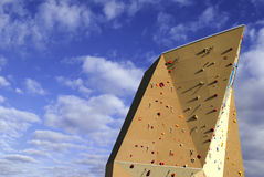 Climbing wall Stock Images