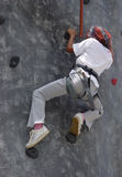 Climbing walls Royalty Free Stock Photo