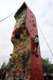 Climbing walls Royalty Free Stock Image