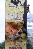 Climbing walls Royalty Free Stock Photo