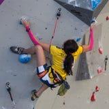 Climbing World Championship Royalty Free Stock Images