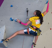 Climbing World Championship Stock Images