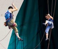 Climbing World Championship Stock Photo