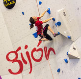 Climbing World Championship Royalty Free Stock Photo