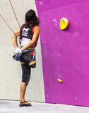 Climbing World Championship Royalty Free Stock Photos
