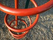 Climbing you at park Stock Image