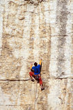 Climbing. Royalty Free Stock Photo
