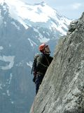 Climbing. Royalty Free Stock Images